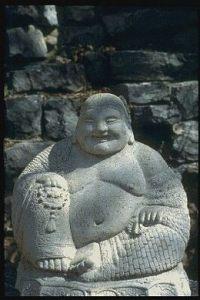 Buda riente