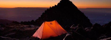 acampar-montaña